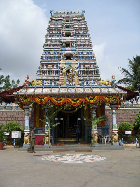 Famous temples in Hyderabad and outskirts