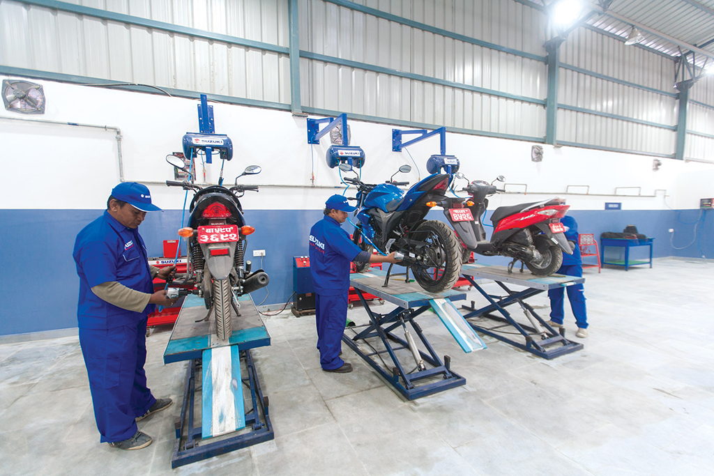 Yamaha Service Center In Kathmandu