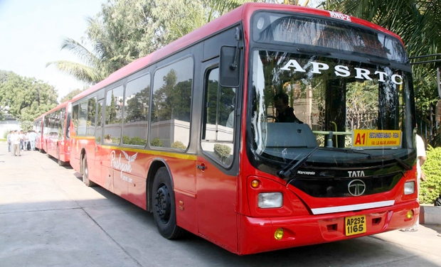 PUSHPAK BUS TIMINGS FROM MADHAPUR TO AIRPORT